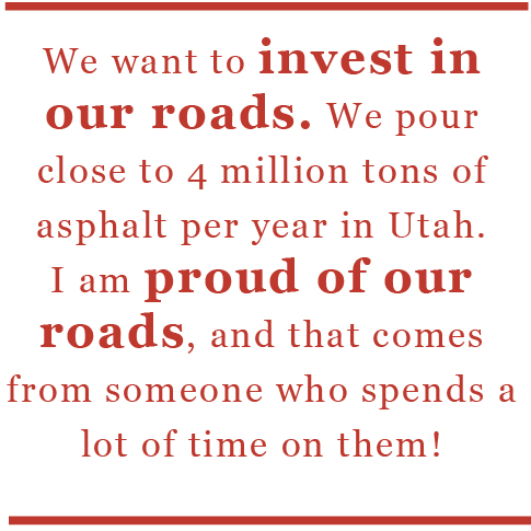 we want to invest in our roads quote
